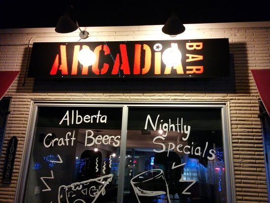 Arcadia Bar | 124 Street Restaurants & Bars Edmonton, Alberta